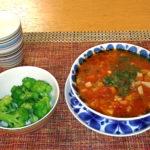 寒い冬の朝はスープでほっこり《ベーコン大きめのミネストローネ》レシピ公開