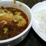 「亞龍咖喱」のパキスタン風エッグカレー(咖喱蛋飯)《香港の微妙なグルメ①》