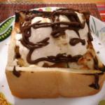 《ハニートーストを作ろう》~自家製アイスクリーム&アップルシナモンジャム