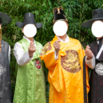 ソウル・仁寺洞で韓服(ハンボッ)のコスプレ